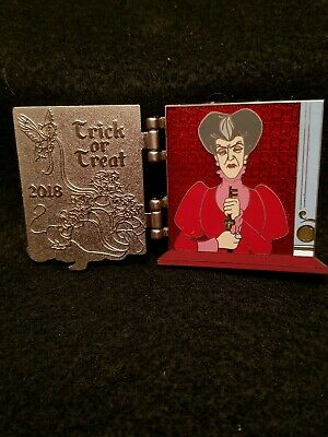 Disney Parks 2018 Haunting Halloween Tiered Collection Lady Tremaine Pin LE x65