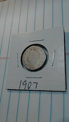 1907 Liberty Head V Nickel  Good Condition