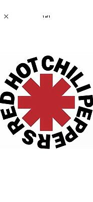 2 x Red Hot Chilli Peppers - Hope Estate - A Reserved Seating