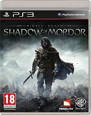 Middle-Earth Shadow of Mordor PS3 Playstation 3 Brand New Sealed