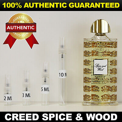 Creed Spice And Wood Eau De Parfum 2ml 3ml 5ml 10ml Authentic Decant