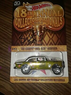 77c7d329aa2 Hot wheels 18th annual collector s nationals autographed 55  Chevy ...