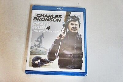 Charles Bronson Death Wish 4 The Crackdown Blu-Ray Disc/ 2012 New