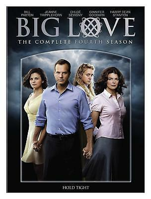 Big Love Hbo Series The Complete Fourth Season 4 Dvd 3-Disc Box Set New Sealed