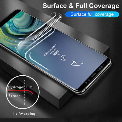For Samsung S8 S9 S10 Note 8 9 Plus Lite PET Soft Clear Screen Protector Film /M