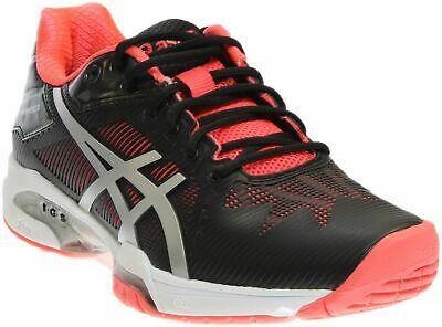 f59f720d ASICS GEL-SOLUTION SPEED 3 Tennis Shoes - Black;Red - Womens