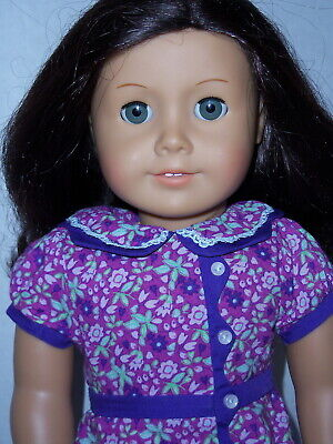 18 inch tall American Girl Doll with Brown Hair & Gray Eyes-0221