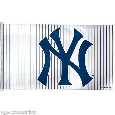 MLB New York Yankees 3' X 5' Flag / Banner Indoor or Outdoor & Vibrant 2 SIDED