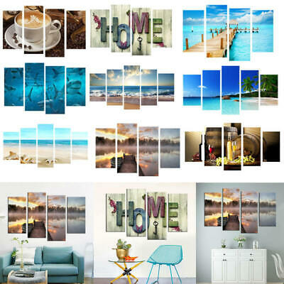 Huge Modern Wall Art Oil Painting Picture Print Unframed Home Decors Picture