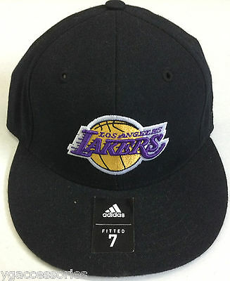 NBA Los Angeles Lakers Adidas pro Forma Aderente Cappello Nuovo 10647c41dac2