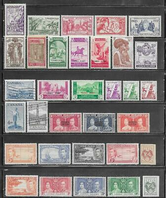 "Various ""C"" Countries Collection Old Stamps"