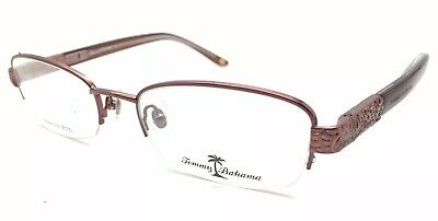 cf067703a3 Tommy Bahama TB5012 (002) Gold Burgundy Authentic 52-19-135mm NEW (