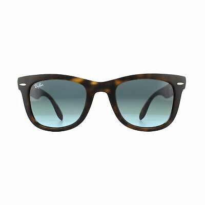 8e793d22a3a Ray-Ban Sunglasses Folding Wayfarer 4105 894 3M Havana Blue Gradient Grey  50mm