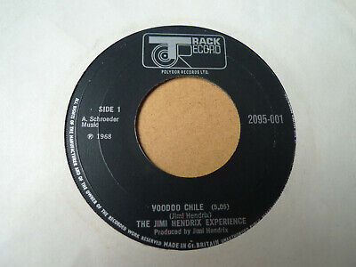 """The Jimi Hendrix Experience – Voodoo Chile 7""""  Track Record 2095-001"""