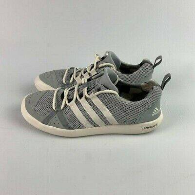 free shipping 0529e 4fc90 ADIDAS CLIMACOOL BOAT Lace G60605 Grey Sz 9.5 New In Box Authentic