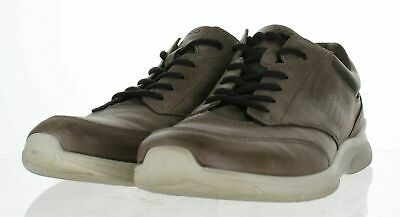 fe73738b3bad X7 ECCO IRVING Dark Clay Leather Lace Up Sneaker Men s Sz 46 M ...