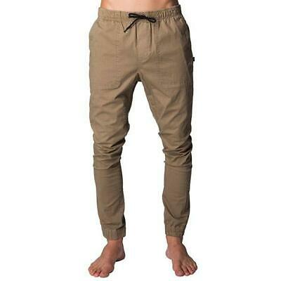 Rip Curl BEACH MISSION PANT Mens Slouch Fit Casual Pants - CPADE1 Khaki
