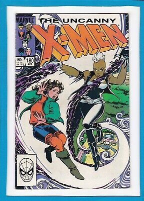 """Uncanny X-Men #180_April 1984_Very Fine_""""whose Life Is It Anyway?""""!"""