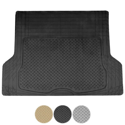 1pc Heavy Duty All Weather SUV Rubber Cargo Trunk Floor Mat Liner Import Suvs