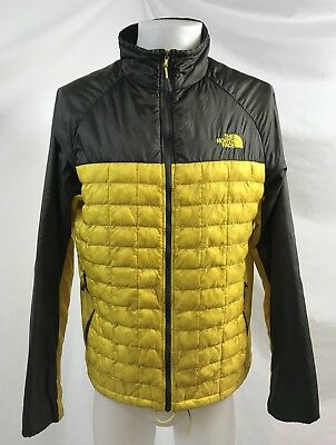 469d8950fc HOMME THE NORTH Face Jaune et Noir Primaloft Compressible Manteau ...