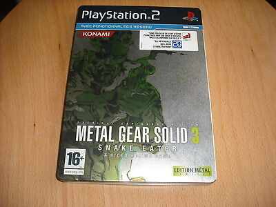 METAL GEAR SOLID 3 !! edit METAL  !  JEU PS2