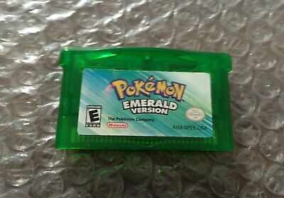 Pokemon Emerald Version (Game Boy Advance, GBA)  Authentic Cart Only - Tested