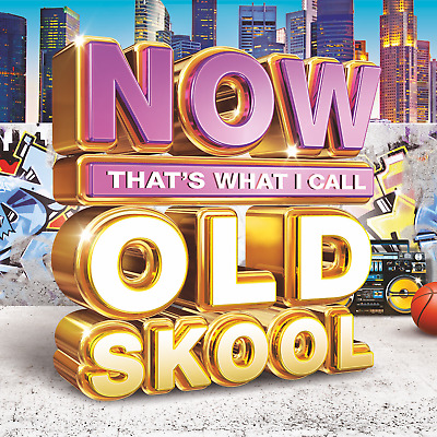 NOW THATS WHAT I Call Old Skool Music (2017) 3 CD Set (80s 90s Songs) O  School