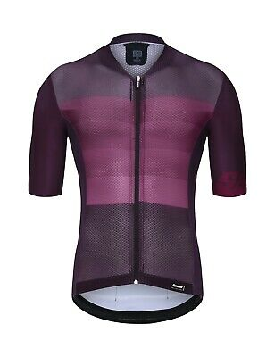 cc0fccfa0 2019 Men s Tono Cycling Jersey - Burgundy- by Santini - Made in Italy