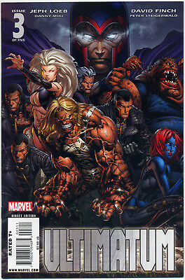 Ultimatum #3 (Marvel 2009) Near Mint First Print Bagged And Boarded