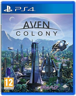 Aven Colony PS4 Playstation 4 Brand New Sealed