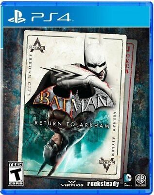 Batman Return To Arkham PS4 Playstation 4 Brand New Sealed