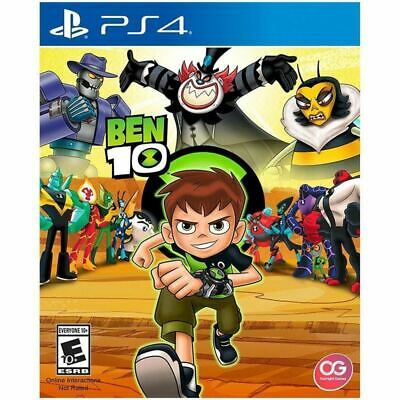 Ben 10 PS4 Playstation 4 Brand New Sealed