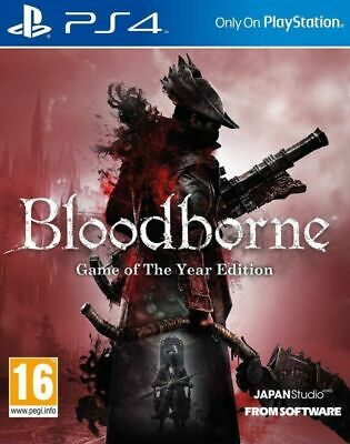 Bloodborne Game of the Year Edition PS4 Playstation 4 Brand New Sealed