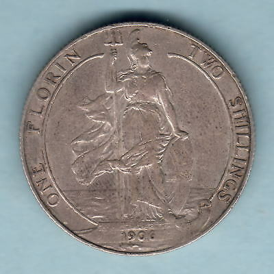 Great Britain.. 1906 Florin..   F+/aVF - Trace Lustre