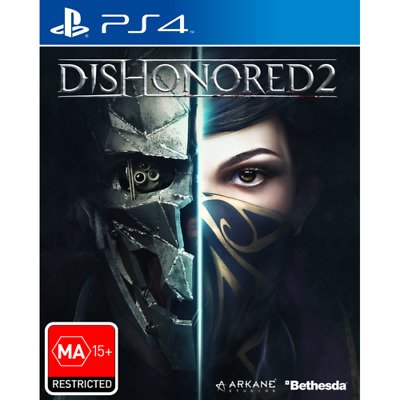 Dishonored 2 PS4 Playstation 4 Brand New Sealed