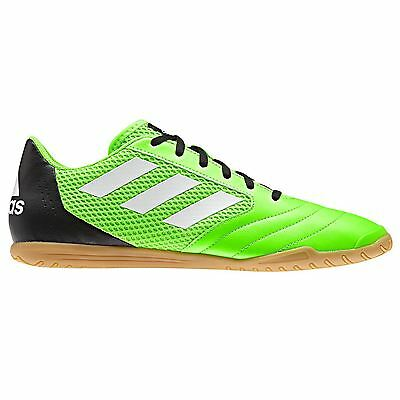 the latest dee2f 62ee5 adidas Ace 17.4 Sala Indoor Trainers Mens GrnBk Football Soccer Fusbal  Shoes