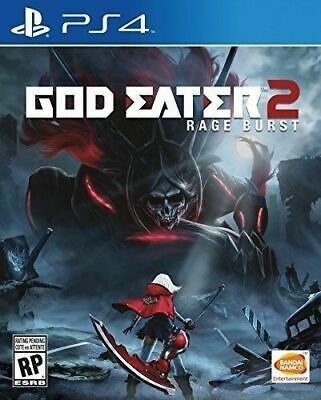 God Eater 2 Rage Burst PS4 Playstation 4 Brand New Sealed