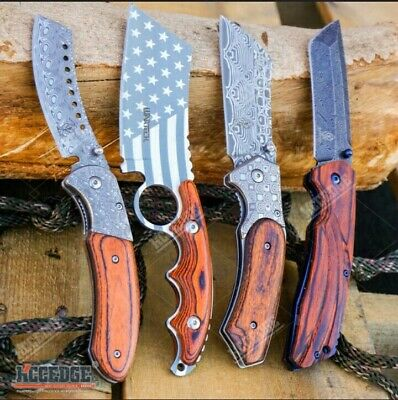 4pc Camping Hunting Cleaver Set