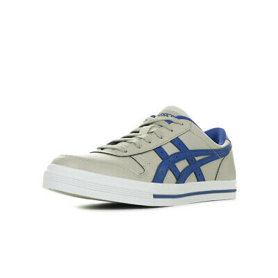 CHAUSSURES BASKETS ASICS unisexe Aaron taille Gris Grise Synthétique Lacets