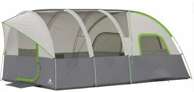 Large Modified Dome Tunnel Tent 8 Person 16' x 8' Camping Outdoor Cabin Shelter