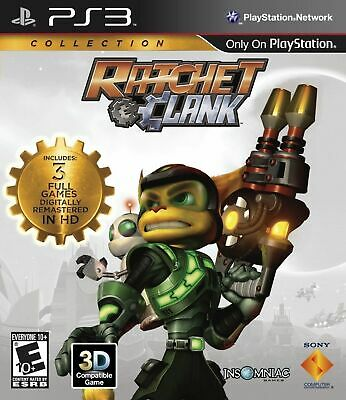 Ratchet and Clank Trilogy Collection PS3 Playstation 3 Brand New Sealed