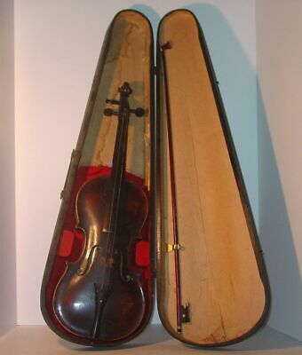 Estate Fresh! JACOBUS STAINER in Absam prope OENIPONTUM 17 Violin & Coffin Case