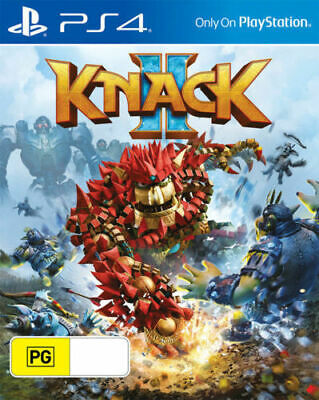 Knack 2 PS4 Playstation 4 Brand New Sealed