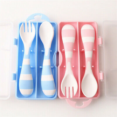 Baby Tableware Tool Infant Spoons Children Soft Soup Fork Baby Spoon Cute Set LG