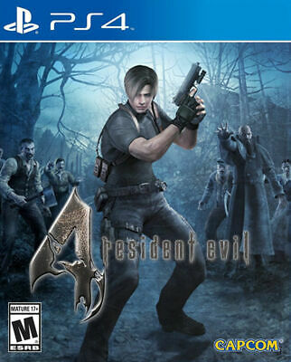 Resident Evil 4 IV PS4 Playstation 4 Brand New Sealed