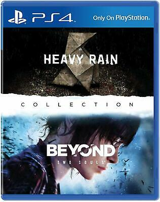 The Heavy Rain & Beyond: Two Souls Collection PS4 Playstation 4 Brand New