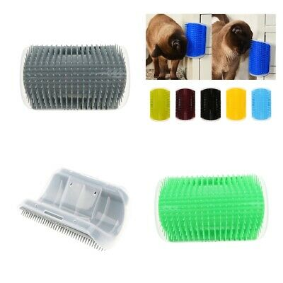 Pet Cat Dog self Groomer Cat Wall Corner Massage Comb Grooming Cleaning Brush