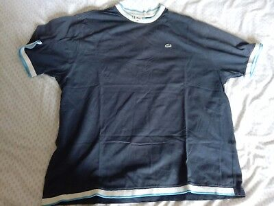 333b073850c polo lacoste bleu taille 8 xxl col rond chemise t-shirt