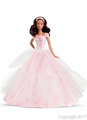 2016 Birthday Wishes African American Barbie Doll DGW31 IN STOCK NOW