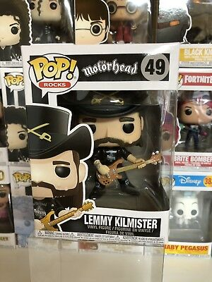 Funko Pop LEMMY Kilmister Motorhead Rocks Vinyl Figure 49 New Sealed